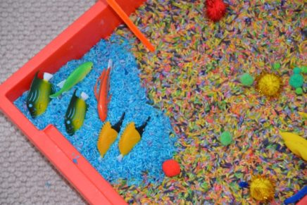 The Lorax Sensory Tray