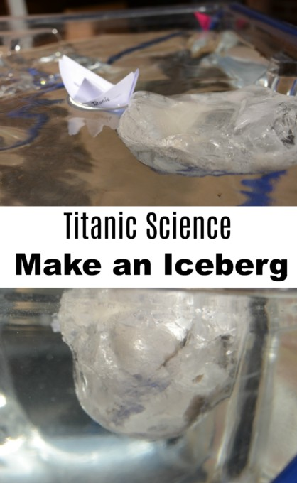 Titanic Science - Make an iceberg