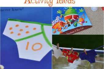 Aliens LOVE Underpants activity ideas