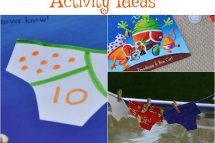 Activity Ideas for Aliens LOVE Underpants