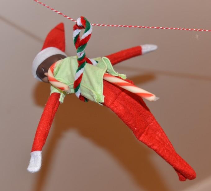 ELF zip line