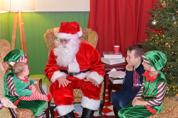 Santa at Winchester Science Centre