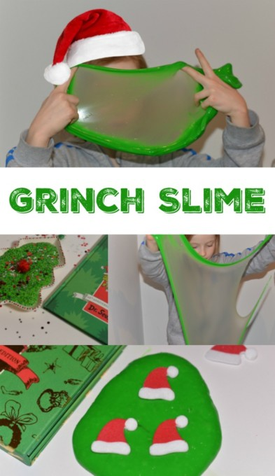 How to make Grinch Slime