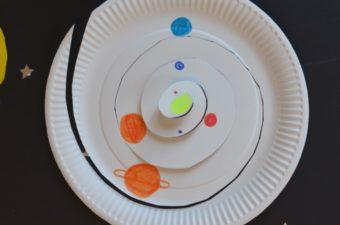 Paper Plate Solar System