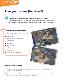 Science Sparks Book Sample Activity