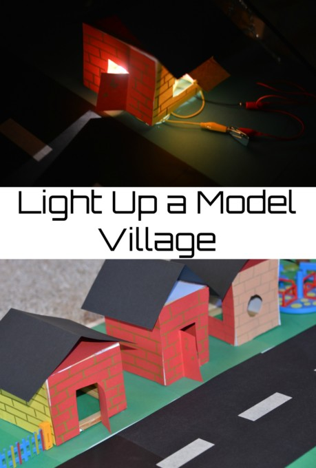 Light up a model village