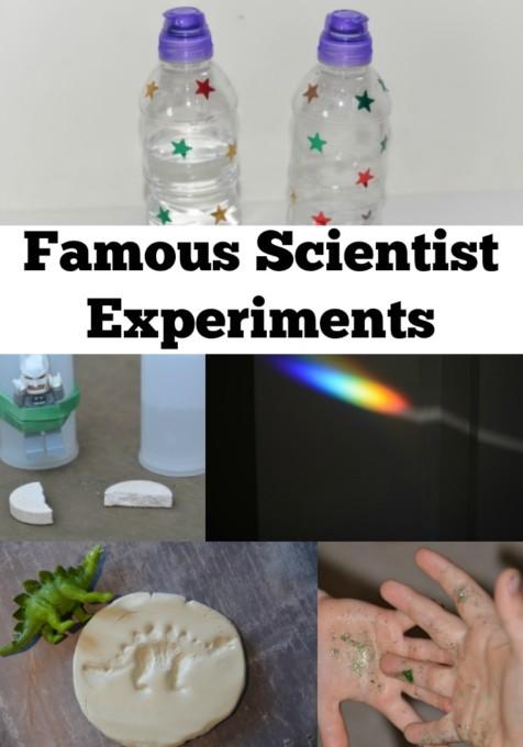 famous scientist experiments