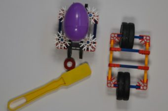 Magnet Powered Egg Cars