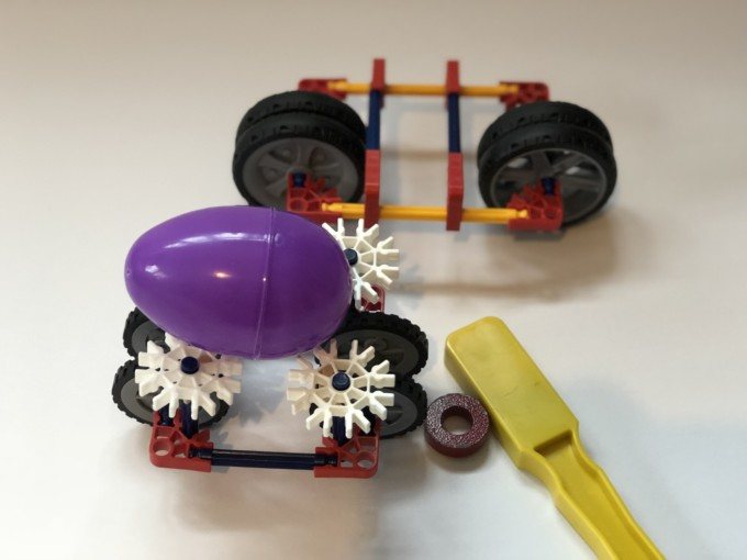 eggy magnet car
