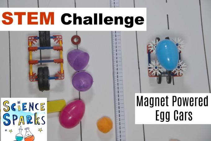 STEM Challenge magnet cars