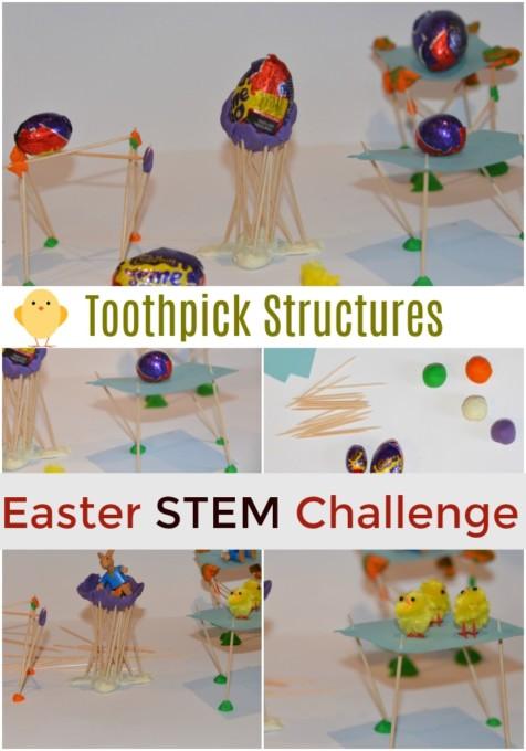 Toothpick structures stem challenge