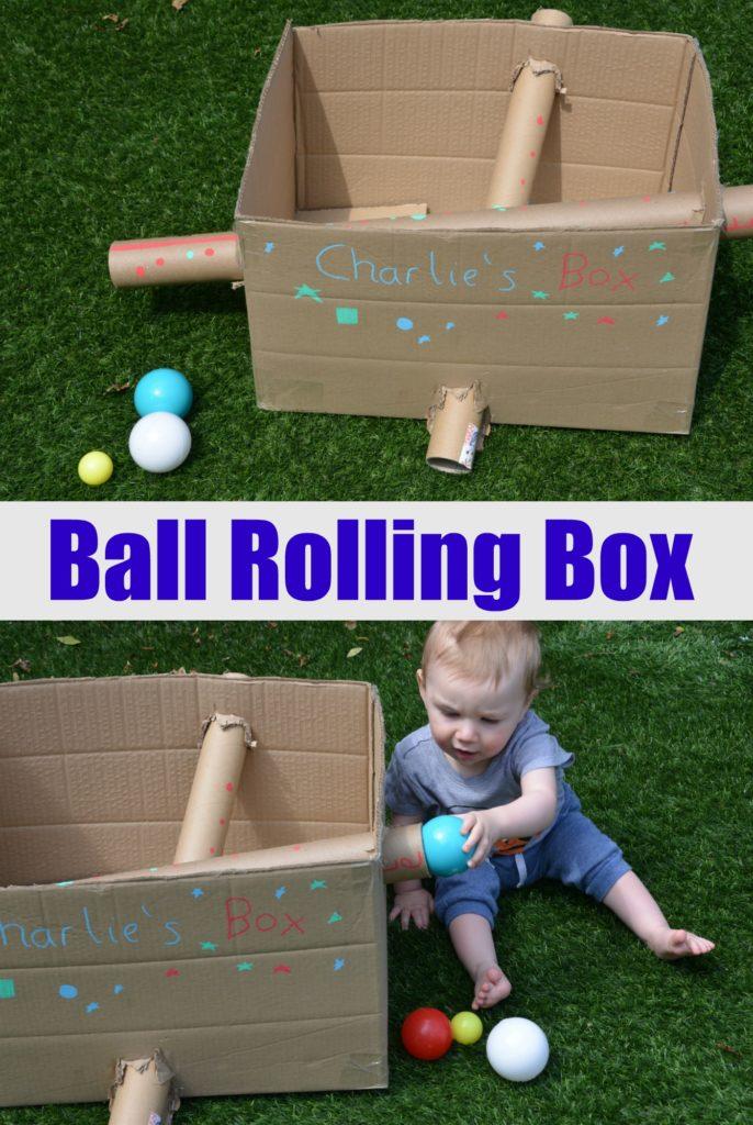 Ball rolling Box