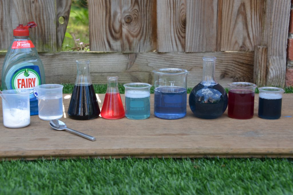colour changing potions