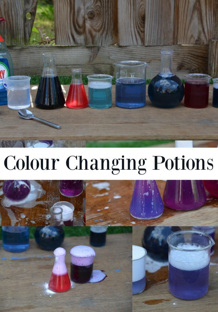 red cabbage indicator colour changing potions