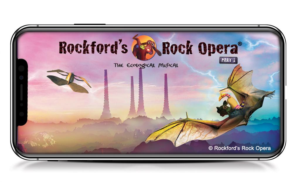 Rockford's Rock Opera App