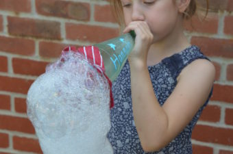 Bubble Snake - bubble science for kids