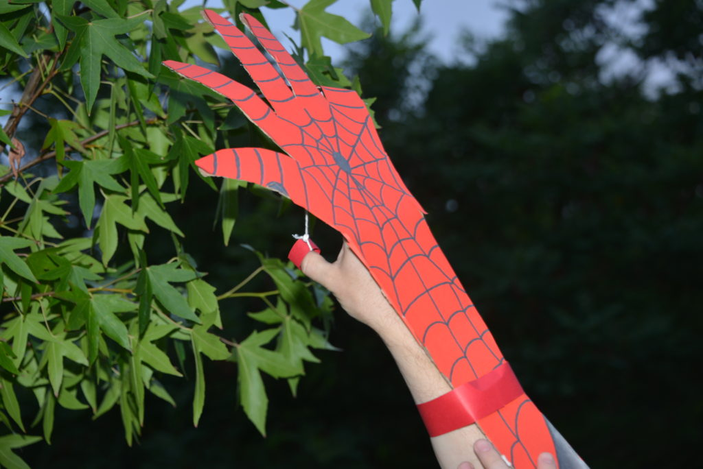 Spiderman arm