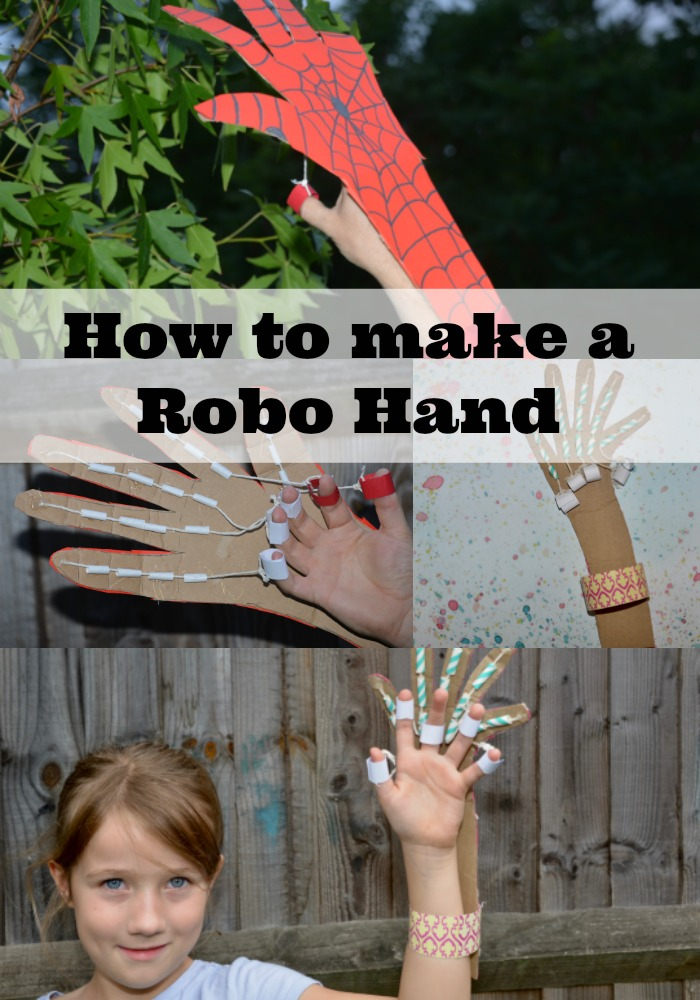 How to make a robot hand