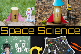 Space Science Experiments for kids - science for kids