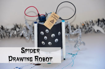 Spider Drawing Robot