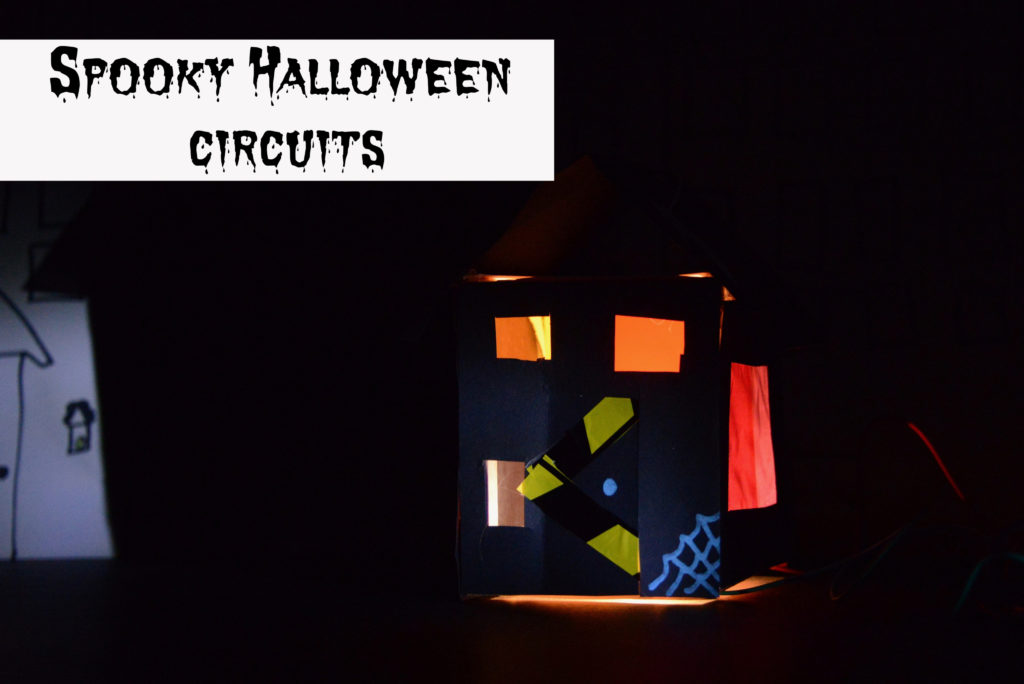 Spooky circuits for kids