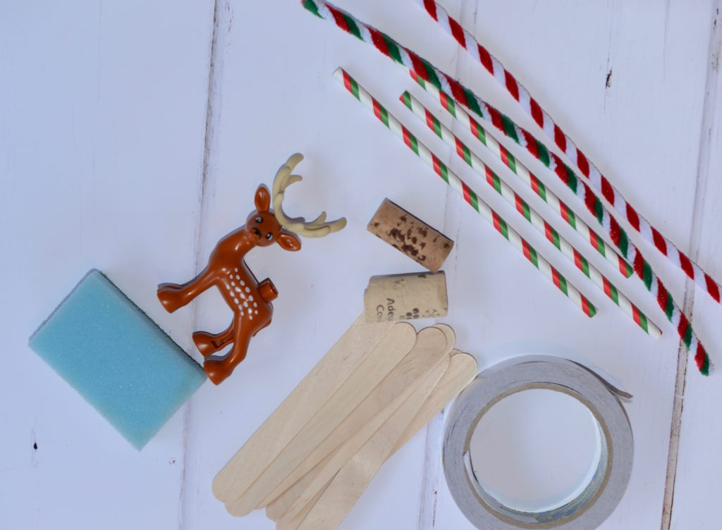 Christmas STEM - raft for reindeer