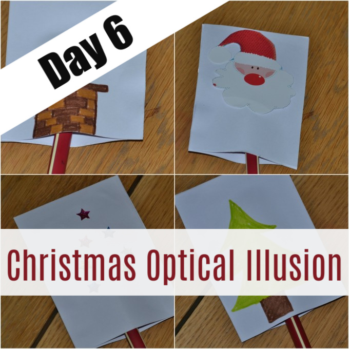 Christmas optical illusions