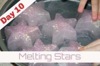Christmas Science- Melting Stars