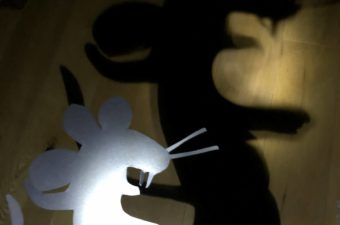 Gruffalo Mouse Shadow Puppet