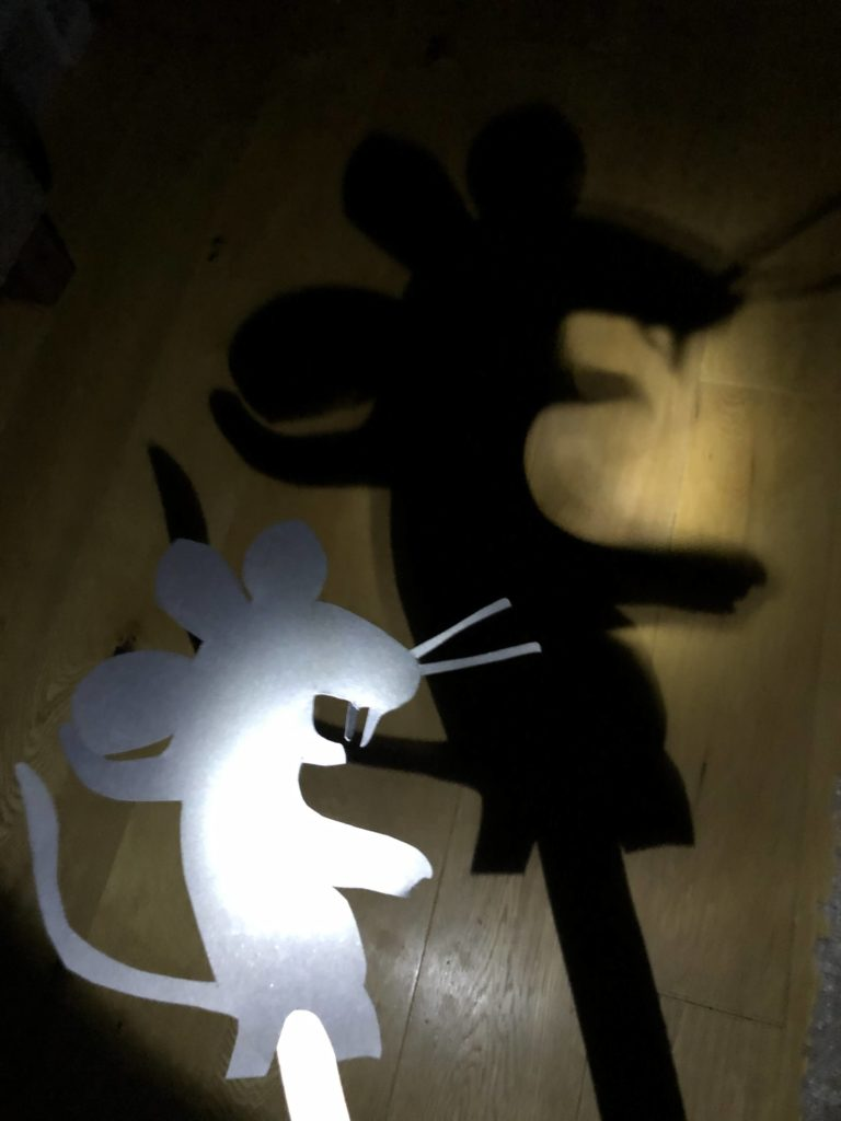 Gruffalo Mouse Shadow