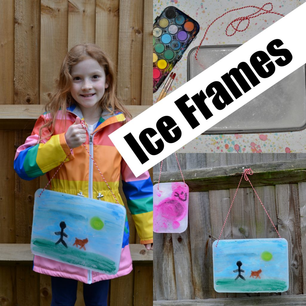 Ice painting Frame