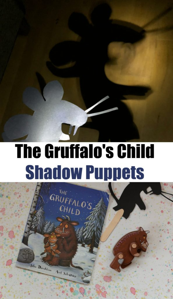Gruffalo Craft and science activity - make shadow puppets