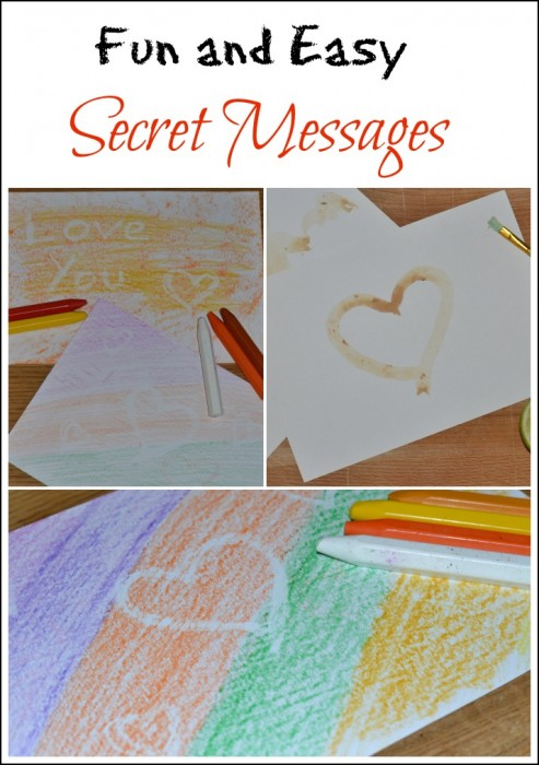 Secret Messages - Science for Kids