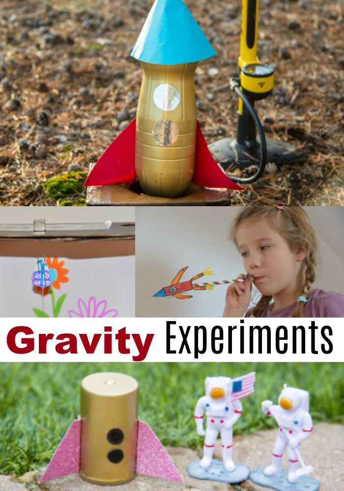 Gravity Experiments for Kids - Forces and Motion