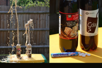 Cool Science Experiments for Kids - Mento Rocket