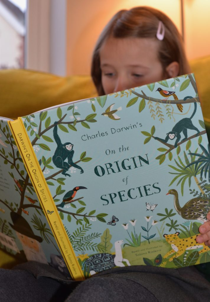 The Origin of Species book