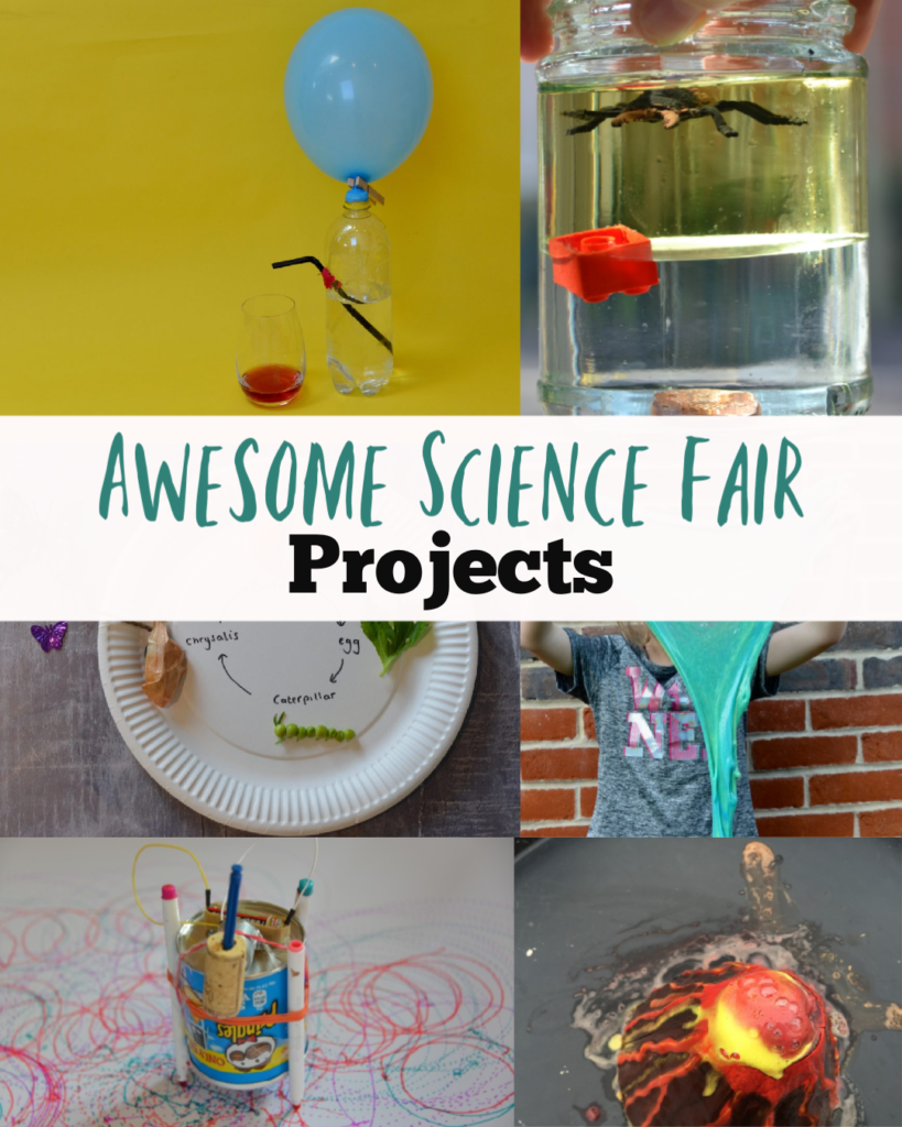 Awesome Science Fair Projects for kids of all ages #sciencefair #scienceprojects #scienceforkids