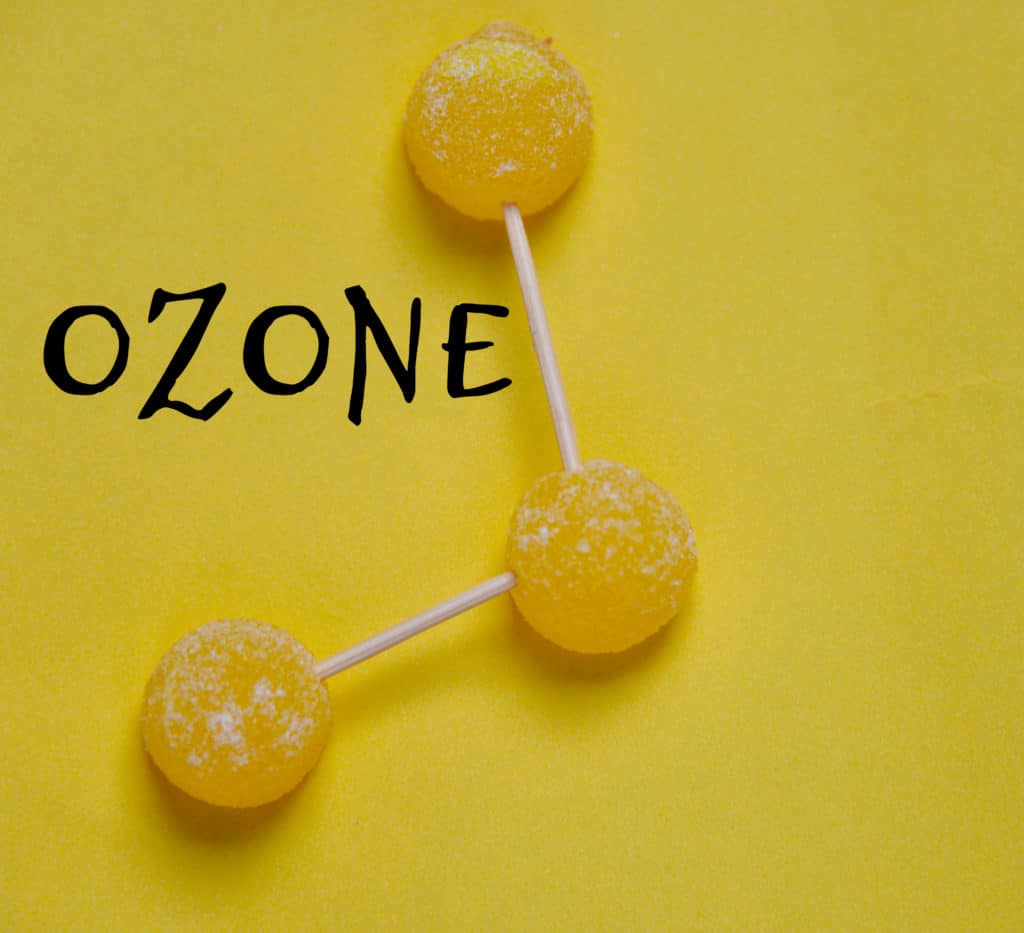 Ozone candy model - global warming
