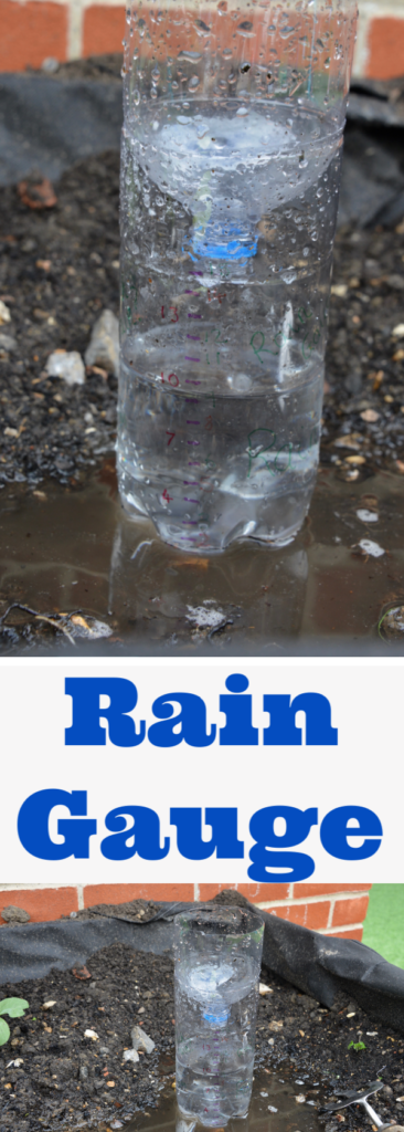 How to make an easy rain gauge - weather science for kids