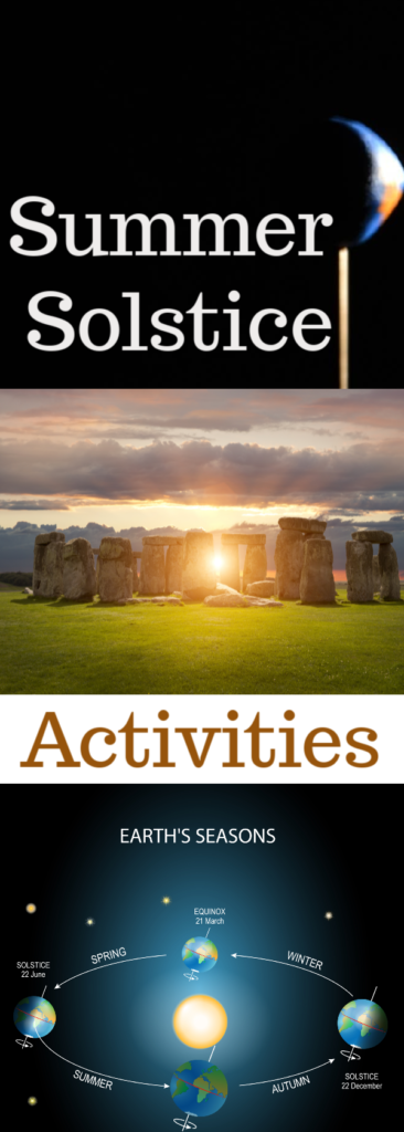 What is the Summer Solstice, find out and try some fun summer solstice themed activities.