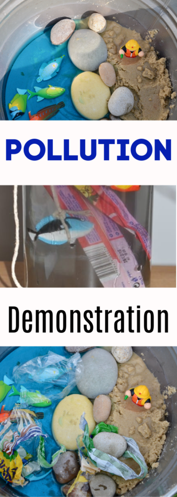 Sea Pollution activity for kids - super simple sea pollution demo. What is pollution? #pollution #scienceforkids #seapollution