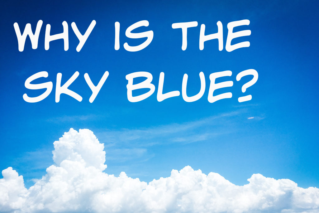 Why is the sky blue? Science questions for kids #sciencequestions #scienceforkids