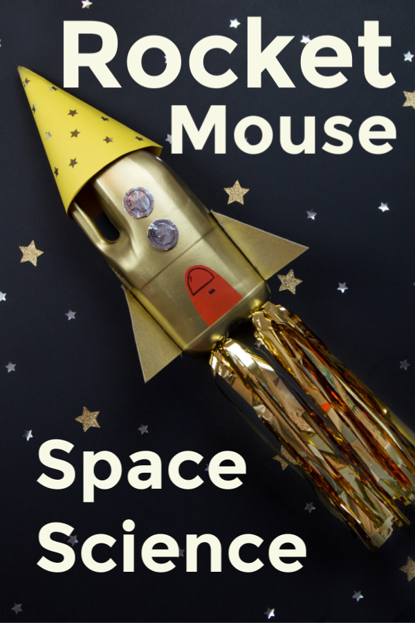 Rocket Mouse - Easy space science experiment for kids #spacescience #spaceexperiments