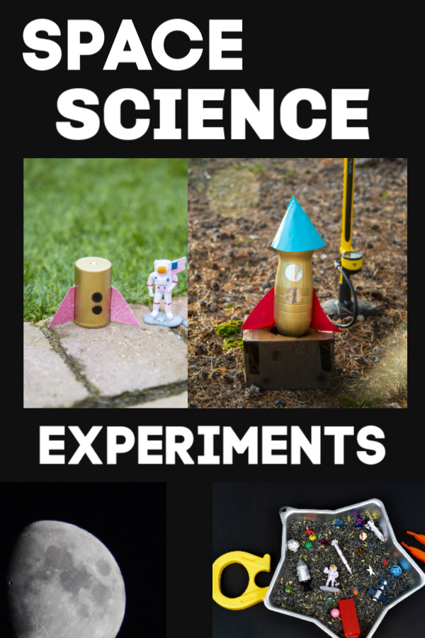 Easy Space Experiments for kids #spacescience #spaceexperiments #scienceforkids #scienceexperimentsforkids