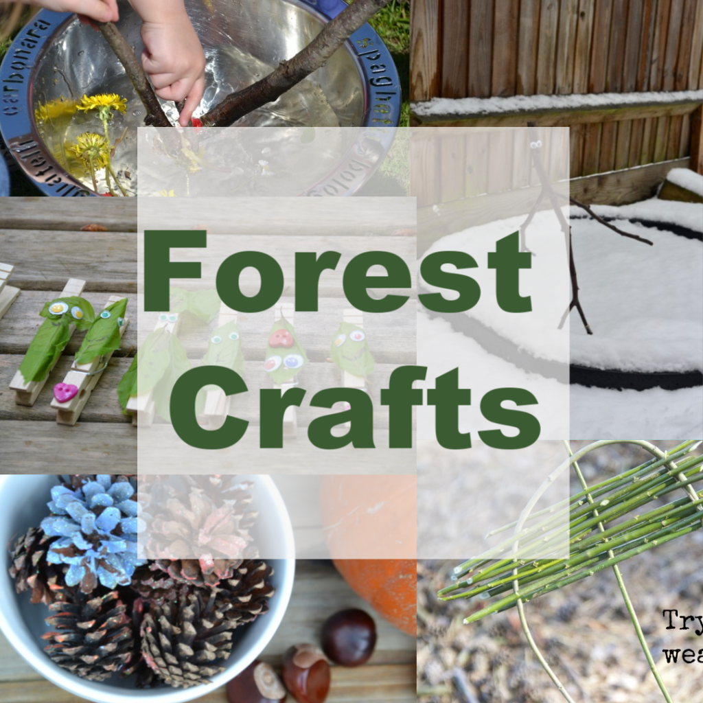 Fun forest crafts for kids