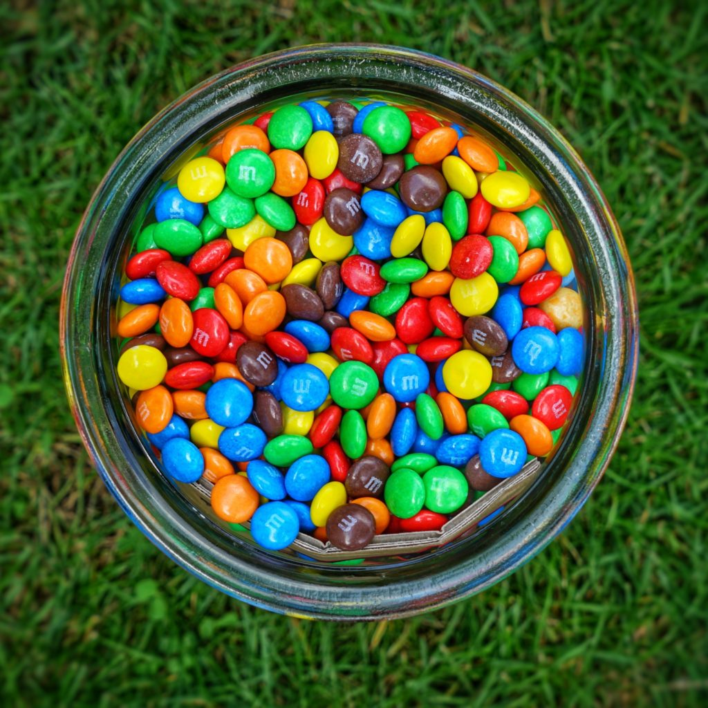 Mixture of M and Ms