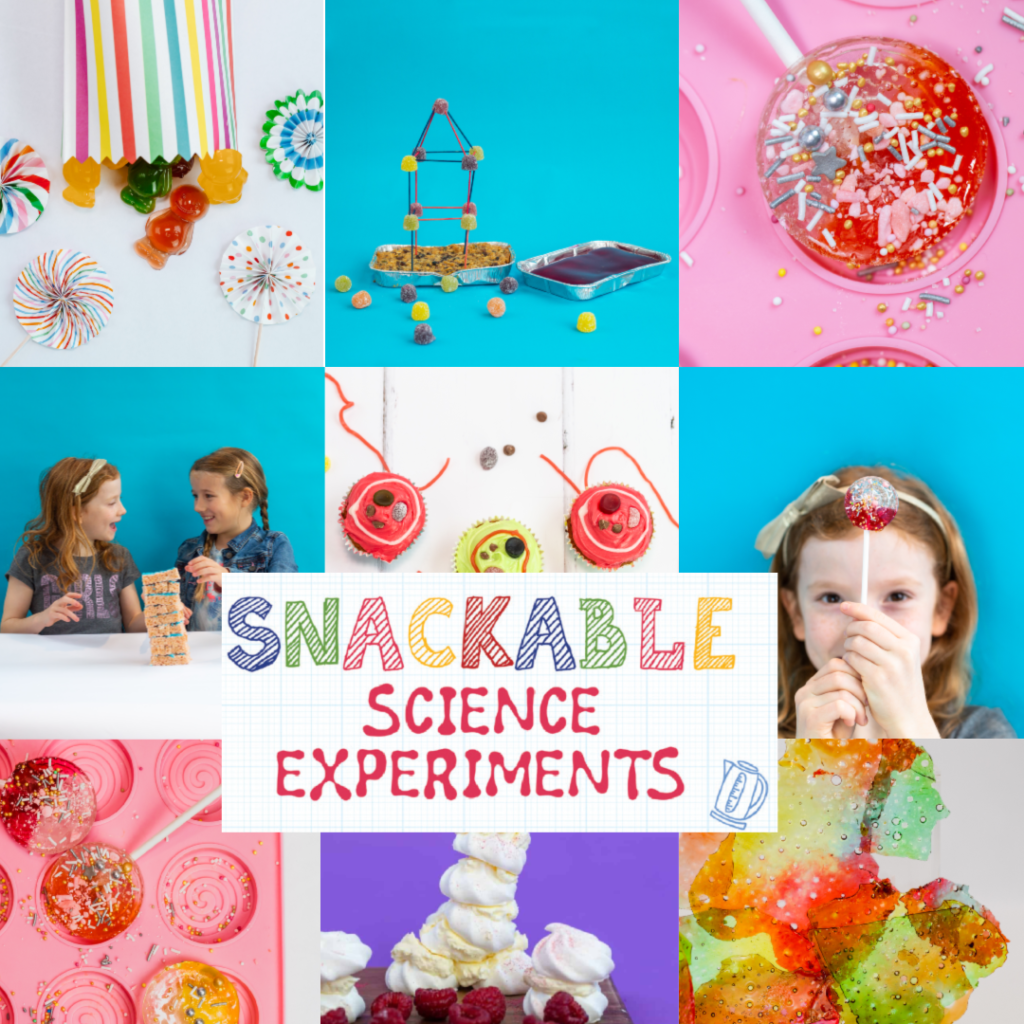 Snackable Science Experiments - kitchen science book for kids