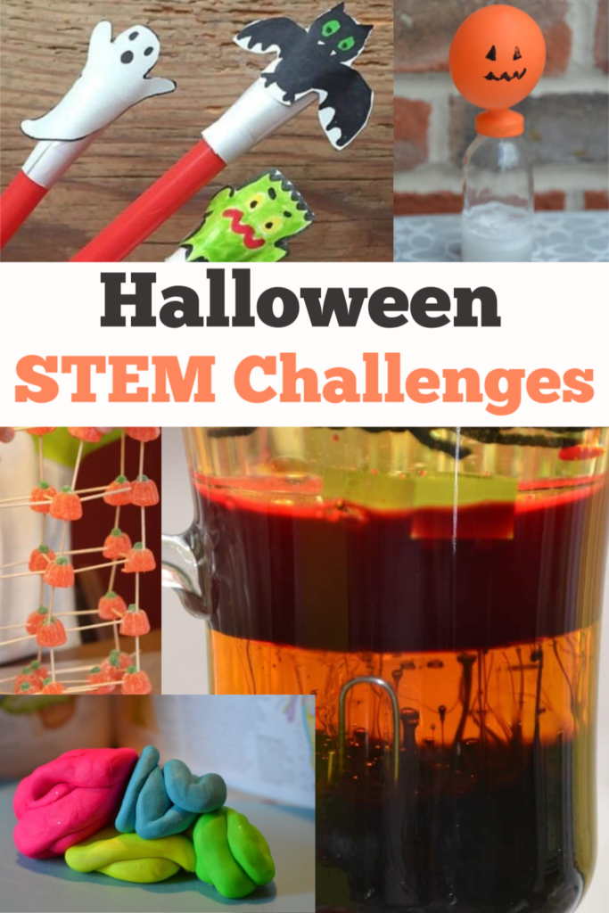 Gruesome selection of #Halloween STEM activities for kids. How many Halloween STEM Activities can you try? #Halloween #HalloweenSTEM #HalloweenScience