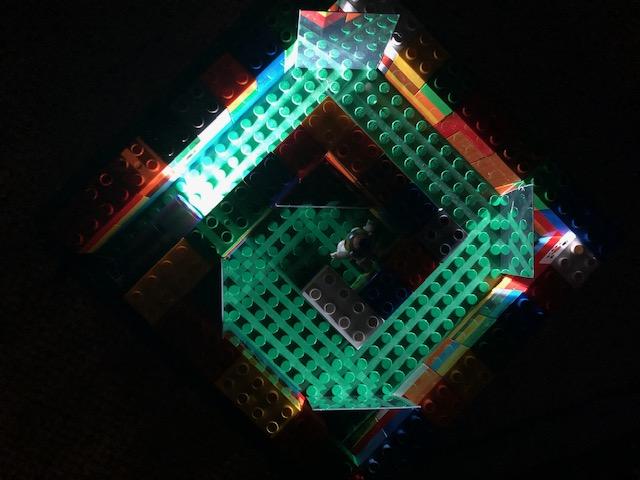 Duplo light maze