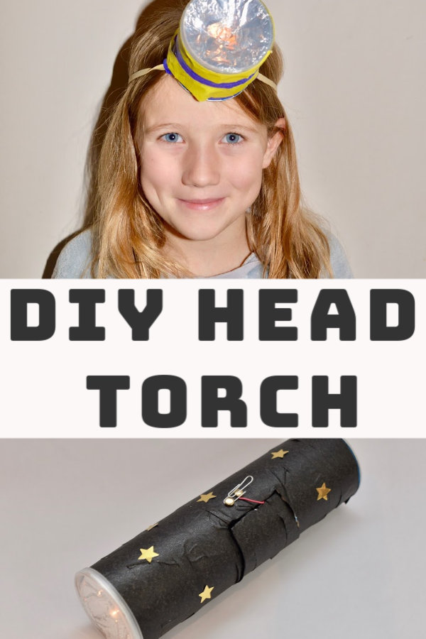Make a DIY torch using a simple circuit. Easy electricity activity for kids #electricityforkids #circuitsforkids #scienceforkids